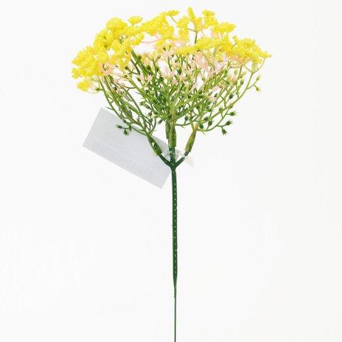 Zápich gypsa žltá 21cm