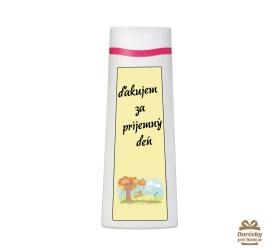 Vtipný sprchový gél  - ďakujem za príjemný deň
