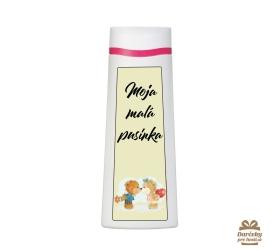 Vtipný sprchový gél  - Moja malá pusinka