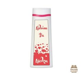 Vtipný sprchový gél  - Ľúbim Ťa láska
