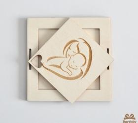 Obálka na darovanie peňazí k narodeniu bábätka