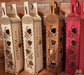 Drevená krabička na víno