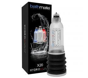 BathMate Hydromax X20 - hydropumpa (priehľadná)