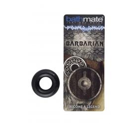 BathMate Barbian - silikónový erekčný krúžok (čierny)