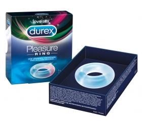 Durex Pleasure Ring - krúžok na penis (priehľadný)