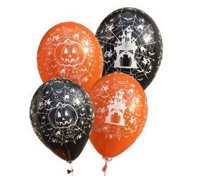 Balóniky detské s potlačou - Balón Halloween 01