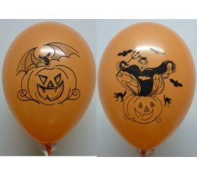 Balóniky detské s potlačou - Balón Halloween