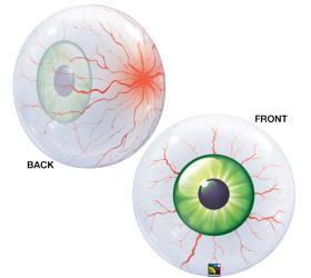 Q Bubbles Floating Eyeball