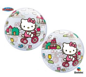 Balón Q Bubbles Hello Kitty