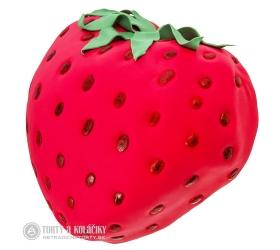 Ovocná torta v tvare jahody