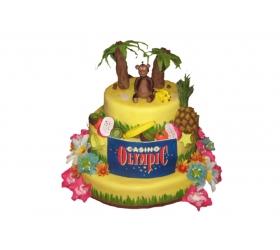 Firemná narodeninová torta