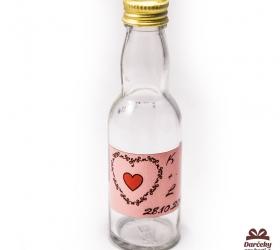 Svadobná fľaštička s alkoholom SF11