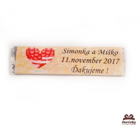 Svadobné žuvačky pre potešenie svadobných hostí SZ23