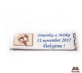 Svadobné žuvačky pre potešenie svadobných hostí SZ10