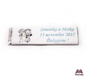 Svadobné žuvačky pre potešenie svadobných hostí SZ04