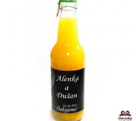 Svadobný nealko nápoj pre svadobčanov