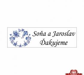 Svadobné žuvačky pre potešenie svadobných hostí SZ103