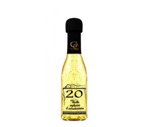 Zlaté šumivé 0,2 l Narodeniny 20