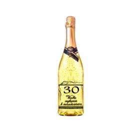 30 rokov Gold Cuvee šumivé so zlatom