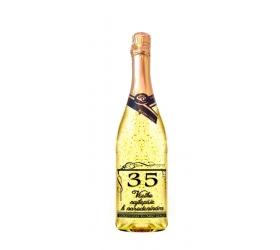 35 rokov Gold Cuvee šumivé so zlatom