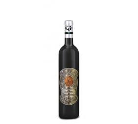 20 Rokov Darčekové víno Červené Kovová etiketa