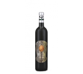 60 Rokov Darčekové víno Červené Kovová etiketa