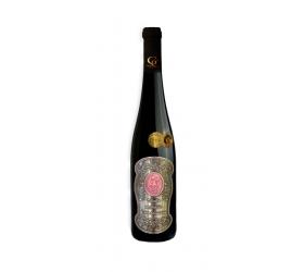 0,75 L Darčekové víno Červené Renana Kovová etiketa 55 rokov