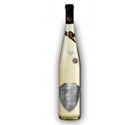 Svadobné darčekové víno Biele Renana Kovová etiketa