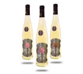 00,18,20,25,30,35,40,45,50,55,65,70,80 Rokov Darčekové víno Biele Kovová etiketa