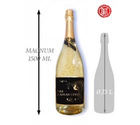 Foto 1,5  L Gold Cuvee šumivé víno so zlatom Pre kamarátku