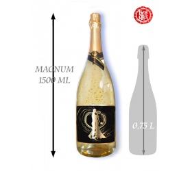 Foto 1,5  L Gold Cuvee šumivé víno so zlatom  Novomanželom