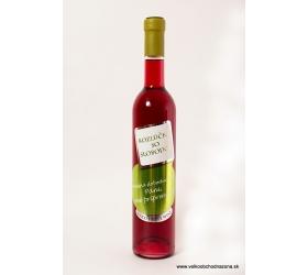 Darčekové víno -Rozlúčka so slobodou