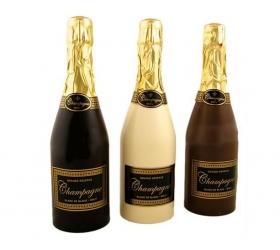 Šampanské z čokolády