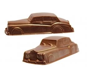 Rolls Royce so zlatým nástrekom