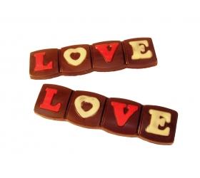 Čokoládová tablička LOVE