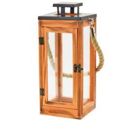 22fl/s lampáš drevo kov-lesk