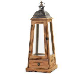24fl/s lampáš+šuflík drev/kov