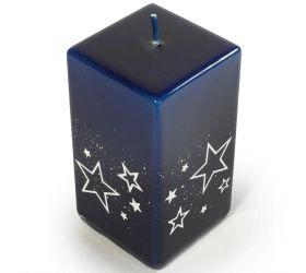 Biele hviezdy kvád.100 modrý