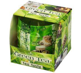 Foto Voň v skle zelený čaj