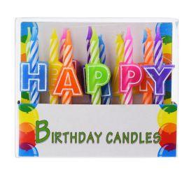 Foto S37354000 tortové sviečky 8cm 13ks
