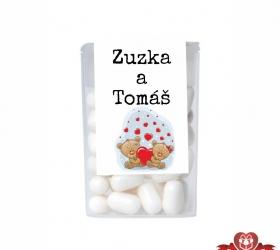 Cukríky pre svadobných hostí  -  mackovia