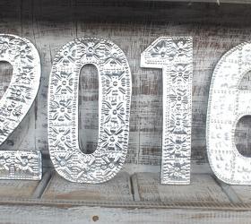 10x Veľké Hlinníkové Dekoračné Čísla - 0 až 9