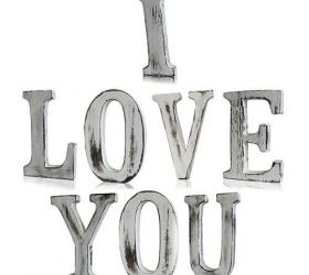 Elegantné Písmená - I LOVE YOU (8)