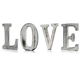 Elegantné Písmená - LOVE (4)