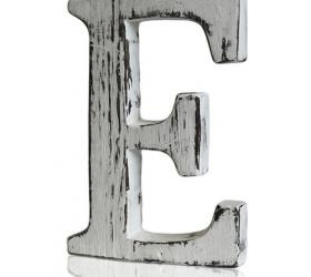 4x Elegantné Písmeno - E