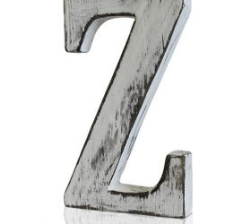 4x Elegantné Písmeno - Z