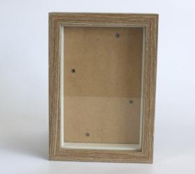 60x Hlboký Rám - Hnedá Patina - 10x15cm - Akcia