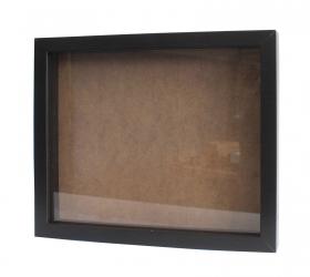 50x Hlboký Rám - Portrét 25 x 30cm Čierny - Akcia