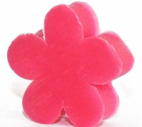 Kvetinkové hosťovské mydlo - Pelargónia