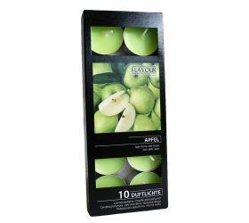 15x Vonné Čajové Sviečky - Jablko 10ks v balení